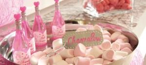 Hochzeitsdeko in Candy-Farben