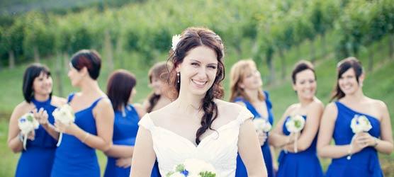 Perfekt Fur Ihre Hochzeit Im Herbst Hochzeitsdekoration In Orange