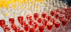 Sektempfang bei der Hochzeit